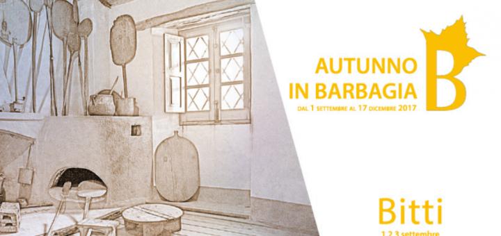 Autunno in Barbagia 2017 a Bitti – Dall'1 al 3 settembre