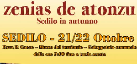 Zenias de Atonzu, Sedilo in autunno - Sabato 21 e domenica 22 ottobre 2017
