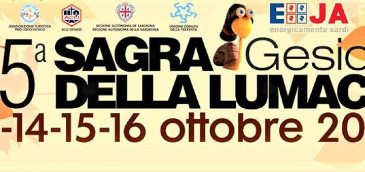 25^ Sagra della lumaca a Gesico - Dal 13 al 16 ottobre 2017