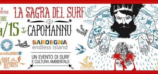 La Sagra del Surf - A Capo Mannu dal 14 al 15 ottobre 2017