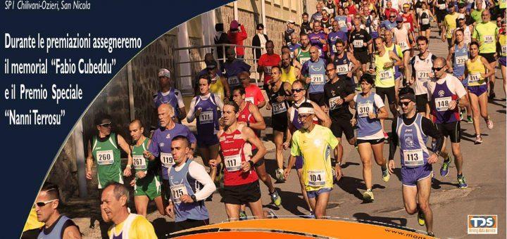 VI edizione Mezza Maratona di Ozieri - Domenica 5 novembre 2017