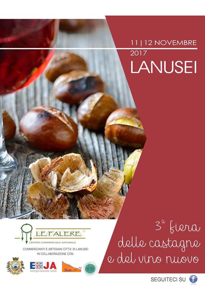 Fiera delle castagne e del vino nuovo a Lanusei - Sabato 11 e domenica 12 novembre 2017