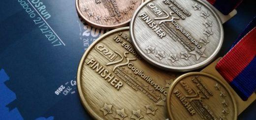 la medaglia di finisher
