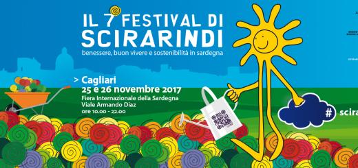VII edizione Festival di Scirarindi - Sabato 25 e domenica 26 novembre 2017 a Cagliari