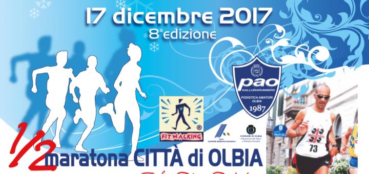 8ª Mezza Maratona Città di Olbia - Domenica 17 dicembre 2017