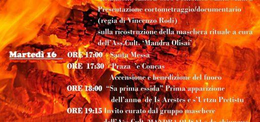 Sant'Antoni 'e su Fogu! Sa Tuvera 2018