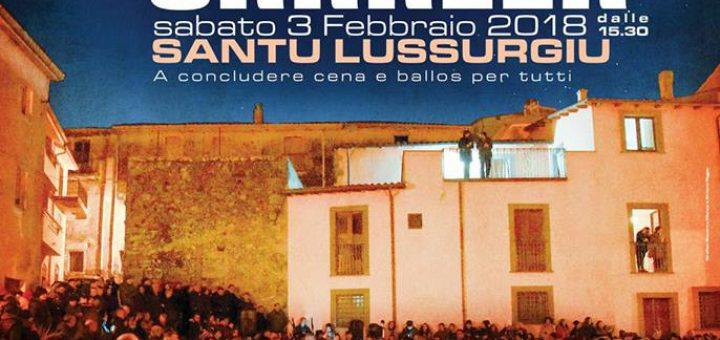 Cantigos in Carrela a Santu Lussurgiu - Sabato 3 febbraio 2018