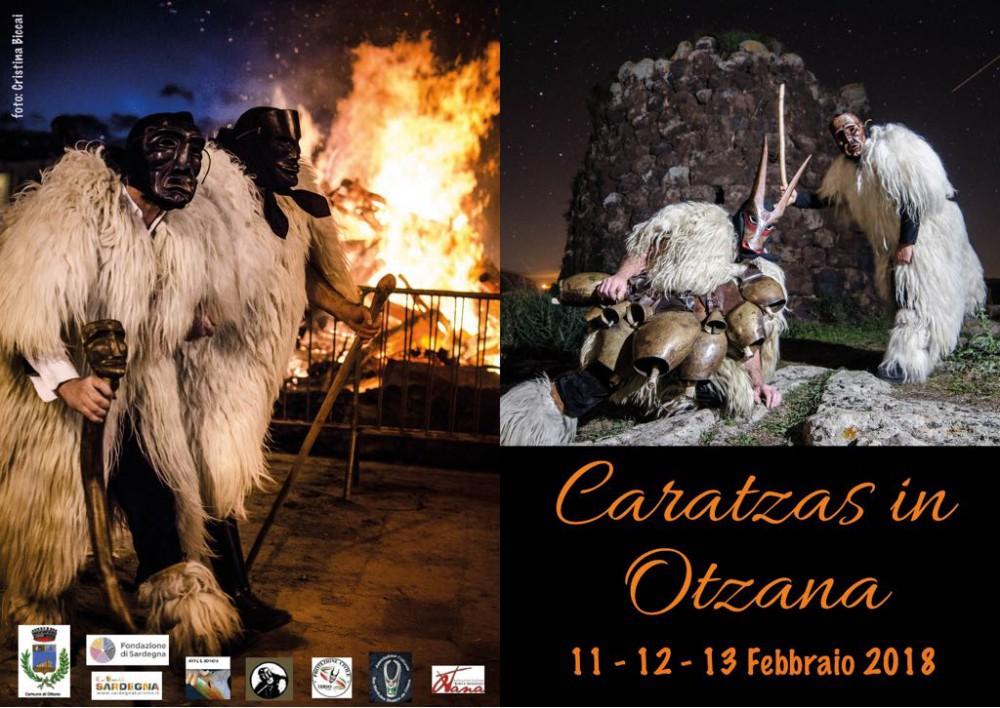 Carnevale Ottanese 2018 - A Ottana dall'11 al 13 febbraio 2018