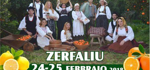 21^ edizione Sagra degli Agrumi a Zerfaliu - Sabato 24 e domenica 25 febbraio 2018