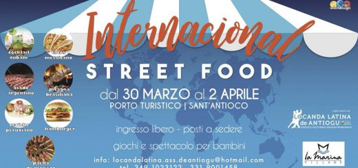 International Street Food a Sant'Antioco - Dal 30 marzo al 2 aprile 2018