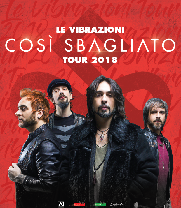 Le Vibrazioni in tour a Cannigione - Lunedì 2 aprile 2018