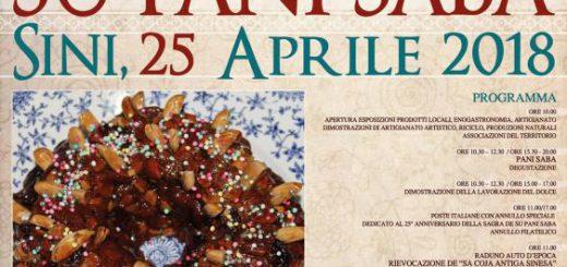 XXV Sagra de su Pani Saba a Sini - Martedì 25 aprile 2018