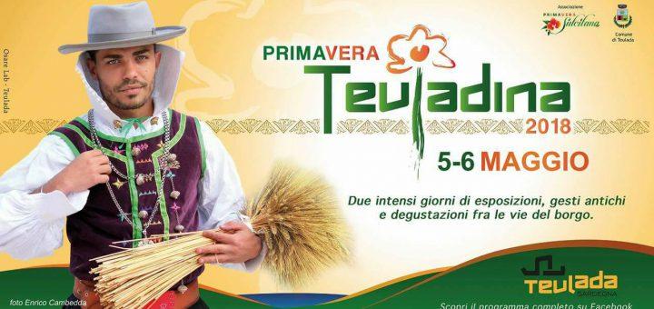 Primavera Teuladina - A Teulada il 5 e 6 maggio 2018