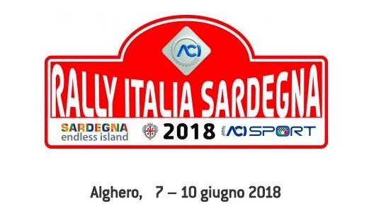 15° Rally Italia Sardegna - Dal 7 al 10 giugno 2018 ad Alghero