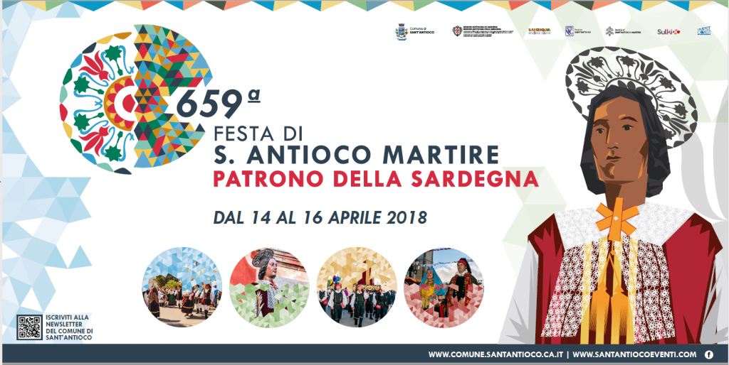 659^ edizione Festa di Sant'Antioco Martire - Dal 14 al 16 aprile 2018
