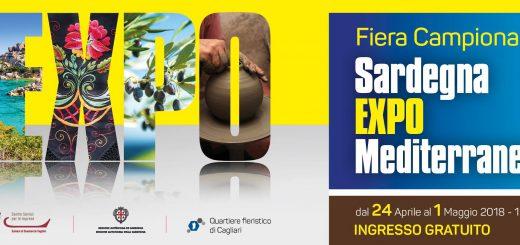 Sardegna Expo Mediterraneo: Fiera Campionaria - A Cagliari dal 24 aprile all'1 maggio 2018