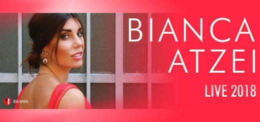 Bianca Atzei in Sardegna - Il tour estivo 2018 farà tappa a Siniscola e Tertenia