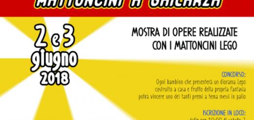 Mostra dei mattoncini Lego a Ghilarza - Sabato 2 e domenica 3 giungo 2018