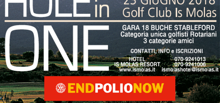 "IV Trofeo di Golf Rotary Cagliari ""Hole In One"""