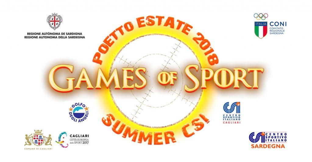 Games of Sport 2018 a Cagliari