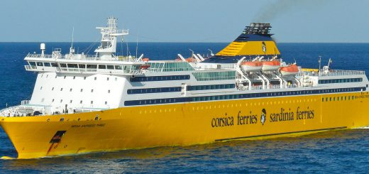 La Mega Express Three di Sardinia Ferries