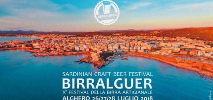 Birralguer 2018 - Ad Alghero dal 26 al 28 luglio