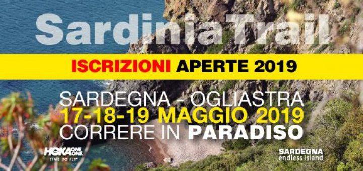 Sono aperte le iscrizioni per il Sardinia Trail 2019