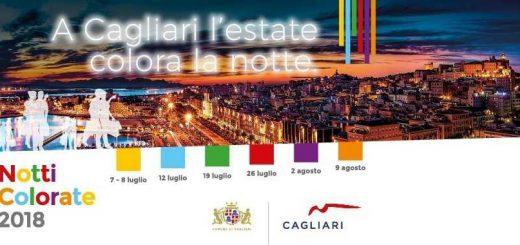 Notti Colorate 2018 a Cagliari