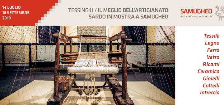 Tessingiu: Mostra dell'Artigianato Sardo - A Samugheo dal 14 luglio al 16 settembre 2018