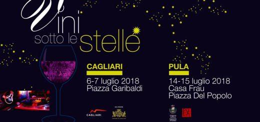 Vini sotto le stelle a Cagliari - Il 6 e 7 luglio 2018