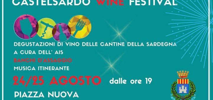 Prima edizione Castelsardo Wine Festival - 24 e 25 agosto 2018