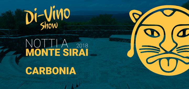 Notti a Monte Sirai | Di-Vino Show
