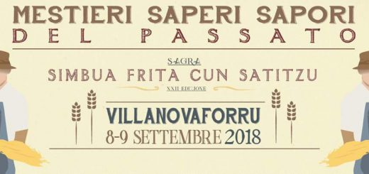 Mestieri, saperi e sapori del passato - A Villanovaforru l'8 e 9 settembre 2018