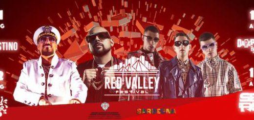 Red Valley Festival 2018 - Ad Arbatax dall'11 al 14 agosto