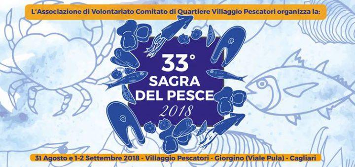 33^ edizione Sagra del Pesce di Giorgino - Dal 31 agosto al 2 settembre 2018