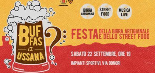 Buffas a Ussana: Festa della birra artigianale - Sabato 22 settembre 2018