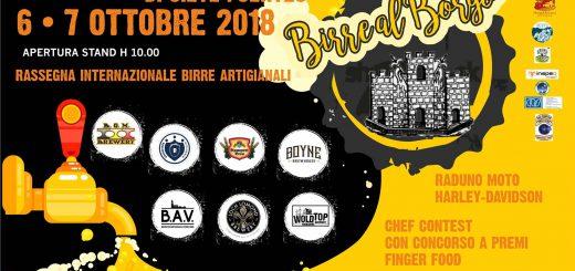 Birre Al Borgo - Il 6 e 7 ottobre 2018 presso il borgo di San Leonardo