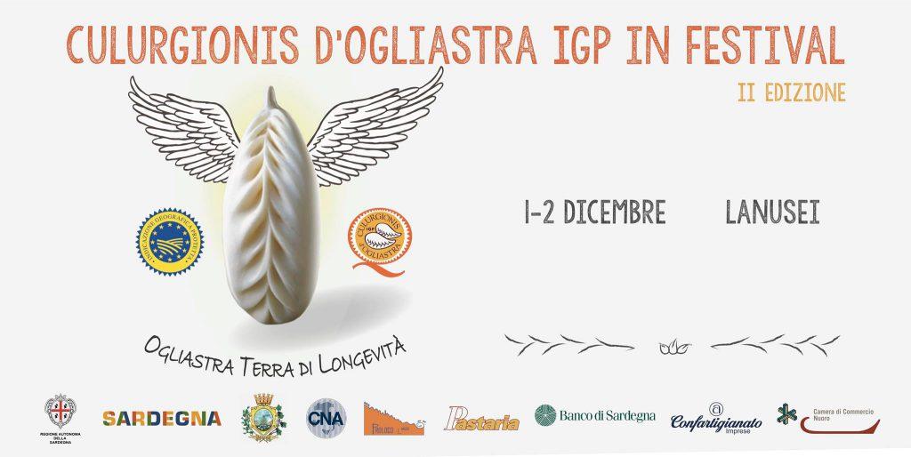 Culurgionis d'Ogliastra IGP in Festival a Lanusei - 1 e 2 dicembre 2018