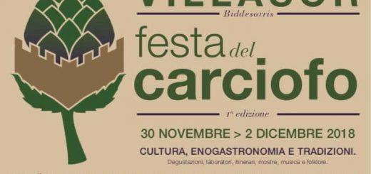 Festa del Carciofo a Villasor: dal 30 novembre al 2 dicembre 2018