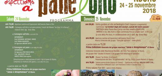 Pane e Olio a Ilbono: sabato 24 e domenica 25 novembre 2018