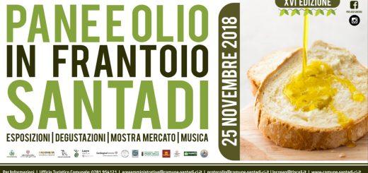 Pane e Olio in Frantoio 2018 - La XVI edizione a Santadi il 25 novembre