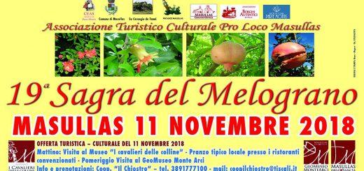 Sagra del Melograno a Masullas - Domenica 11 Novembre 2018