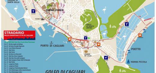 Cagliari Respira 2018: percorso della mezza maratona di Cagliari