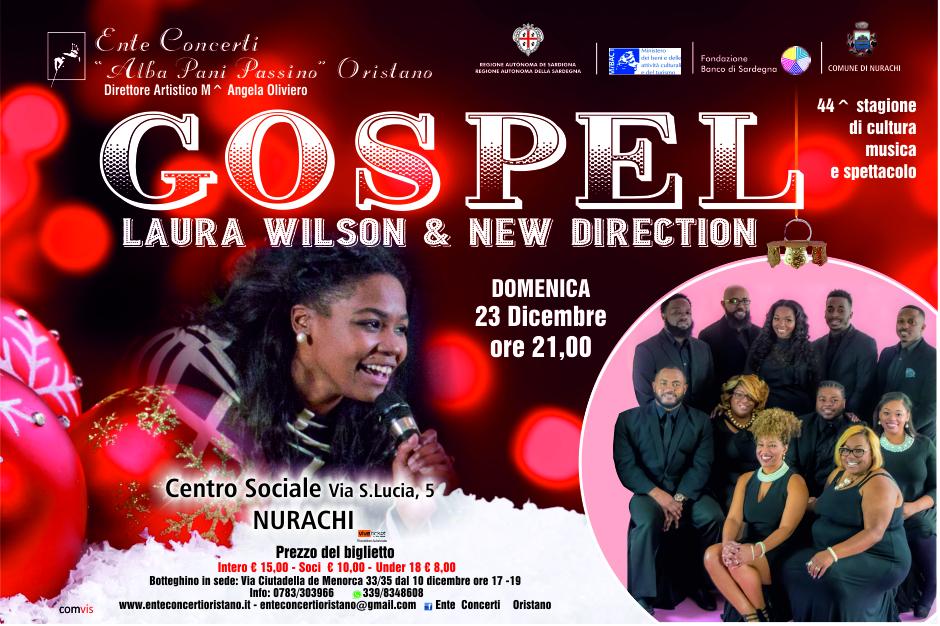 Concerto di Musica Gospel a Nurachi con Laura Wilson