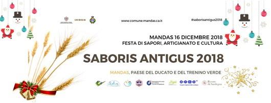 Saboris Antigus a Mandas: 15 e 16 dicembre 2018