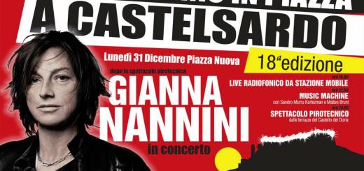Capodanno 2019 a Castelsardo: ci sarà Gianna Nannini!