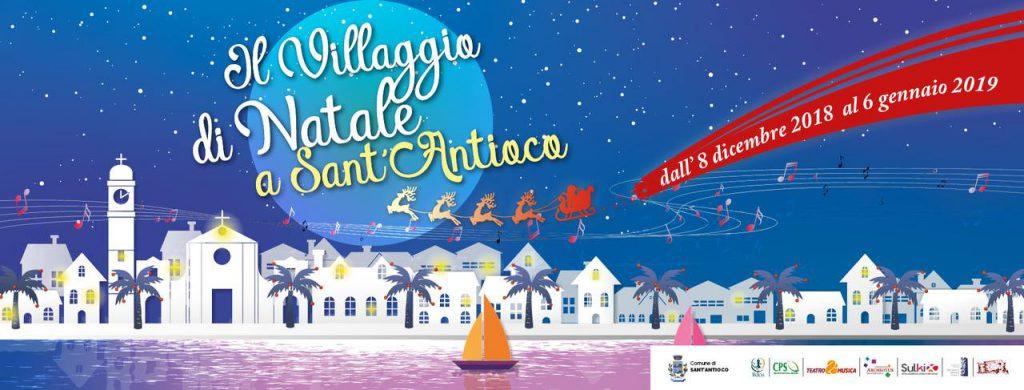 Villaggio di Natale a Sant'Antioco - Dall'8 dicembre 2018 al 6 gennaio 2019