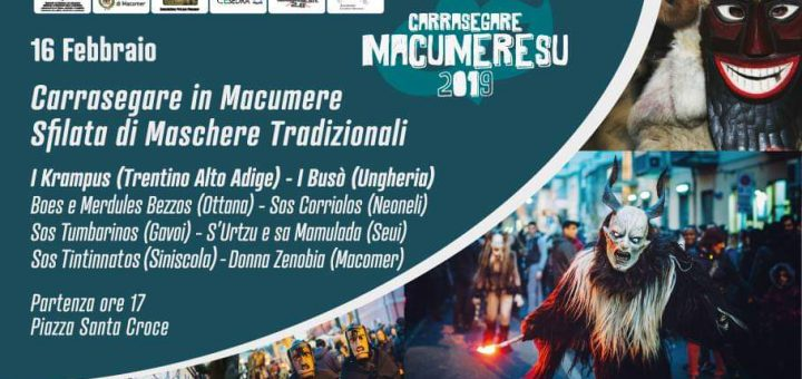 Carrasegare in Macumere 2019