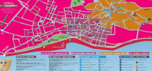 Le nuove cartine turistiche per andare alla scoperta di Sant'Antioco