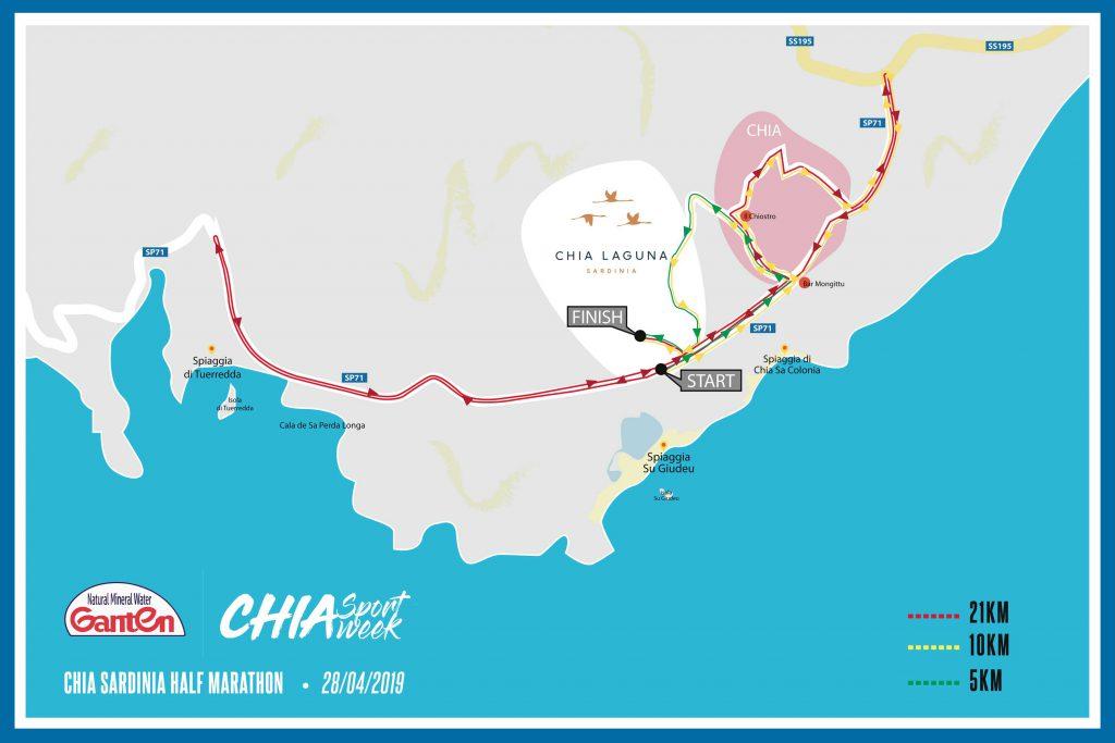 Ganten Chia21 Half Marathon
